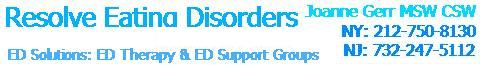 Joanne Gerr and EDReferral.com Treatment for Eating Disorders