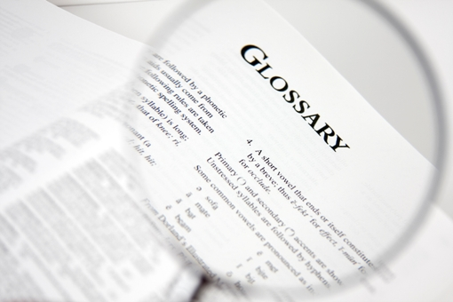 eating disorder glossary